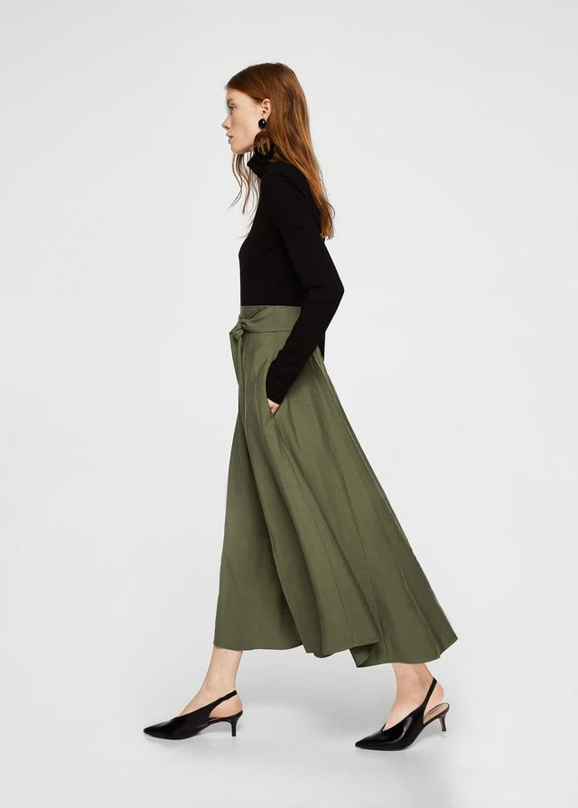 712ae4035b Belt Long Skirt from Mango £49.99 I am going to say that the split isn't  for me. Too high. Legs too meh. I need all the covering up I can get.