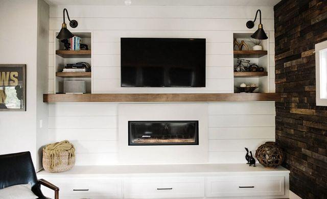 A Modern Farmhouse Fireplace Update Emily Henderson