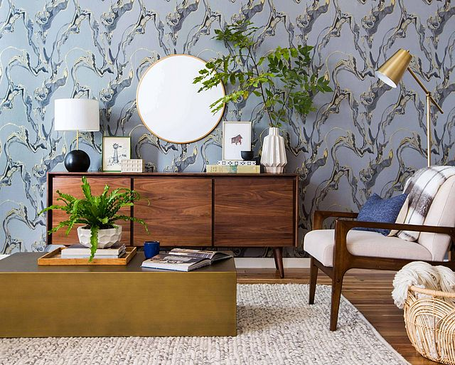 Painting Supplies & Wall Treatments 100% Quality Custom Wallpaper Murals 3d Bookshelf Bookcase Background Wall High-grade Wall Covering To Help Digest Greasy Food Home Improvement