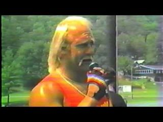HEY GUYS! Here's Hulk Hogan surprising Campers In 1985, Brother!!